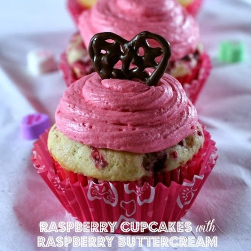 Raspberry Cupcakes by Recipes Food and Cooking