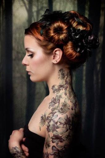 Flower tattoos designs ideas men women
