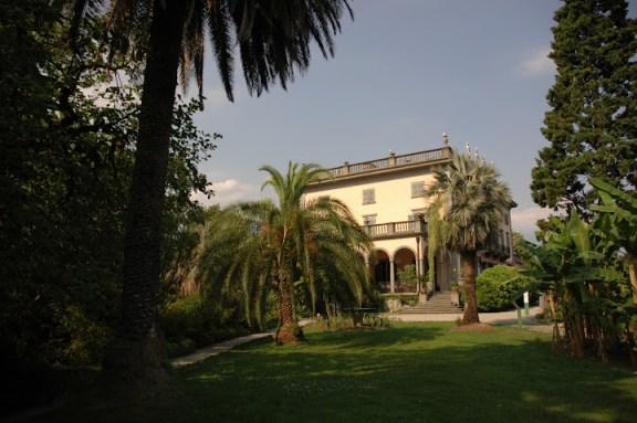The villa on the island