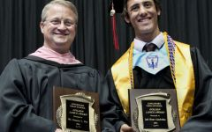 Jack Garabedian and Damon Dye receive annual Golden Lance awards