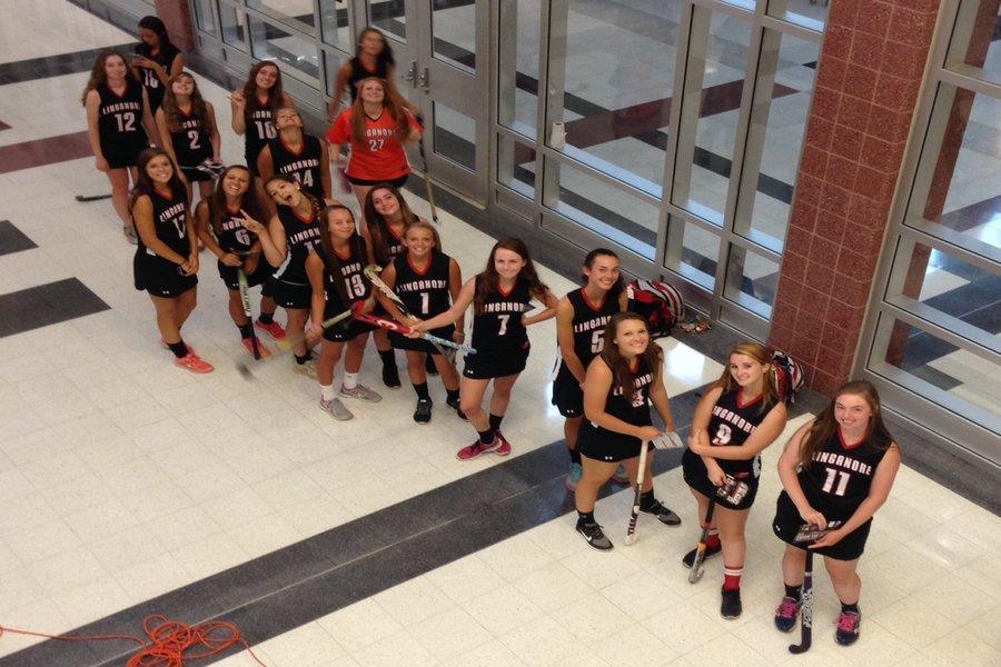 Photo of the Day 8/22/14: Field hockey poses for fall sports