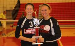 Varsity volleyball team takes second place at Linganore Invitational