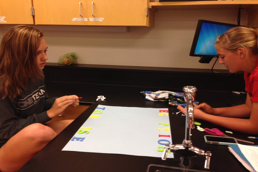 Photo of the Day 10/1/14: Environmental science prepares for the community show