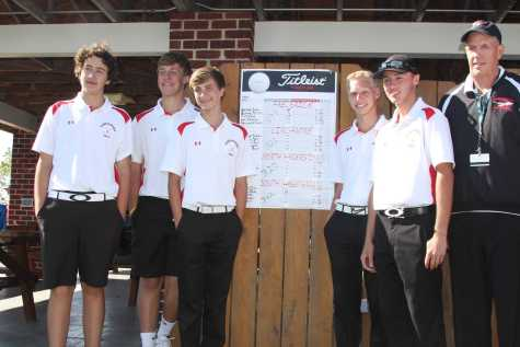 Golf wins Piedmont Division title
