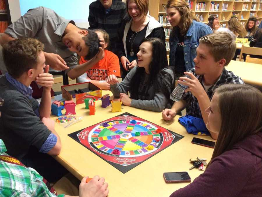 NEHS and NEMS takes part in game night: Photo of the Day 12/12/14