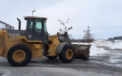 Snow and ice storm calls for early morning plowing: Photo of the Day 2/23/15