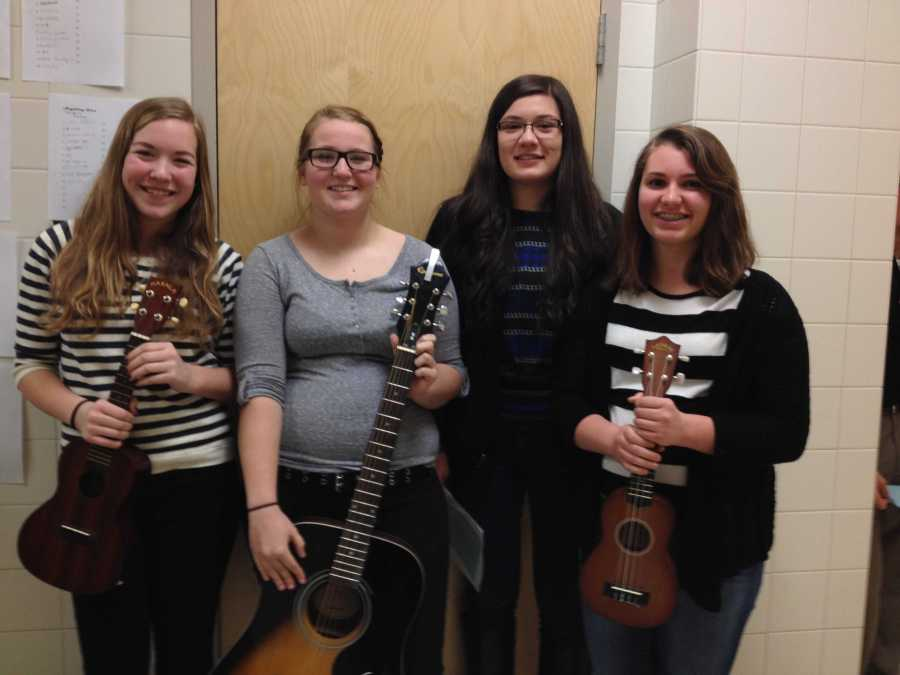 Lancers audition for the annual NHS talent show: Photo of the Day 2/26/2015