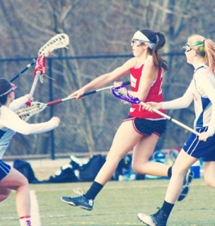 New lacrosse season: girls depend on leader, Ally Coggins