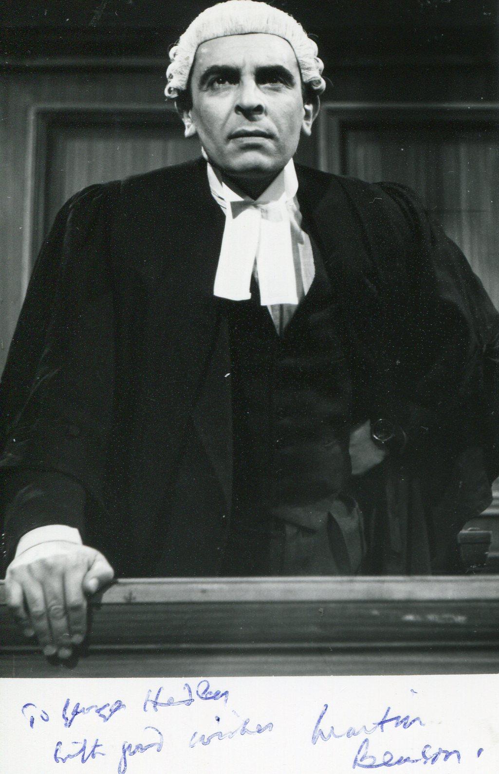 Martin Benson (1918-2010)