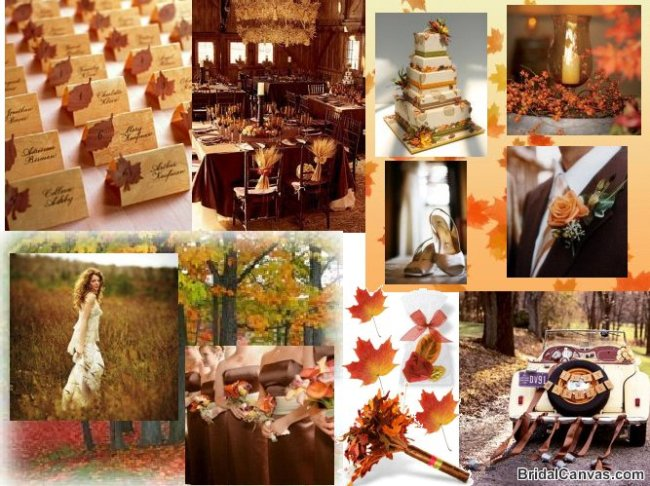 PERFECT FALL WEDDING COLOR PALETTE IDEAS 2014 TRENDS ...