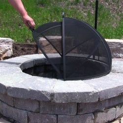Cordial Our Fire Pits Or Your Existing Outdoor Fire Asia Direct Fire Pit Screen Fire Pits Direct Coupon Pavestone Fire Pit Directions This Asia Direct Fire Pit Spark Screen Is A Way Tosafely Cover One houzz 01 Fire Pits Direct