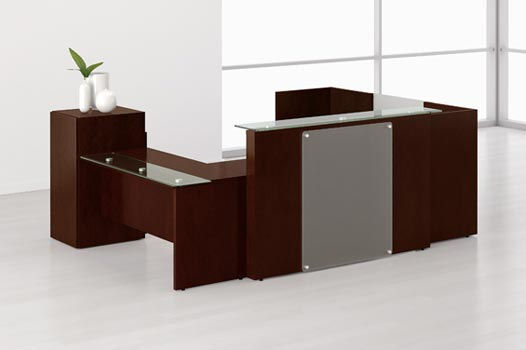 Reception Desk Receptionist Furniture Wood Desks  Home Design Ideas And