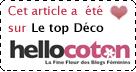 Elu TOP-DECO sur Hellocoton
