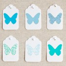 teal-butterflies