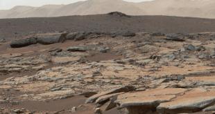 Mars Curiosity Rover Lake