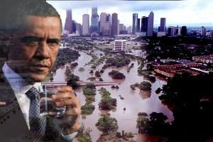 obama flooding texas
