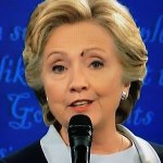 Lord of the Flies:  Fly Lands On Hillary Clinton To Signal America's Doom