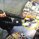 VIDEO: Quick-Thinking Cashier Snatches Gun From Thief's Hand