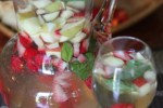 white wine basil berry sangria recipe