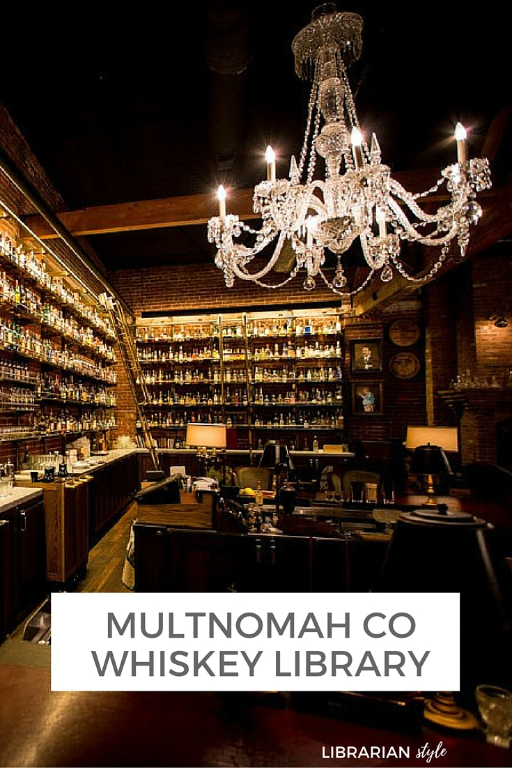 Multnomah County Whiskey Library
