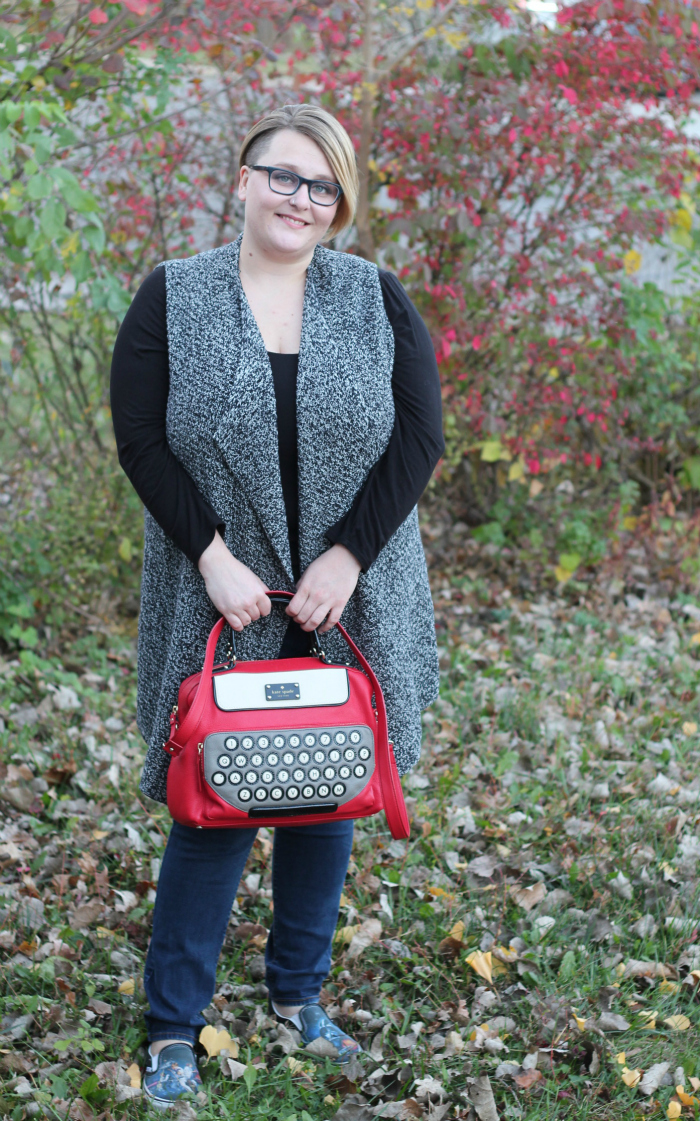 new haircut kate spade typewriter bag