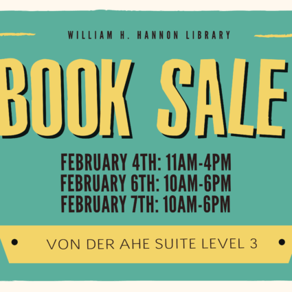 Spring 2017 book sale banner