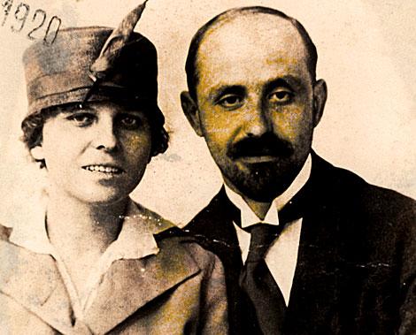 Juan Ramón Jiménez y Zenobia Camprubi, 1920