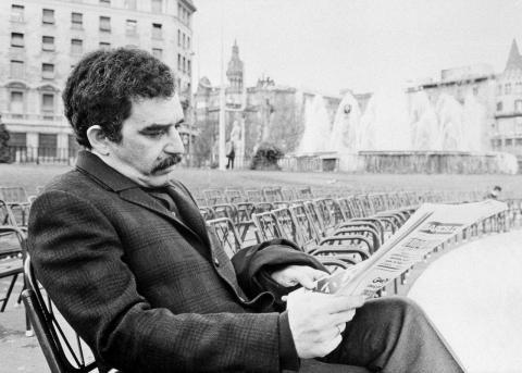Gabriel García Márquez en Barcelona 1970