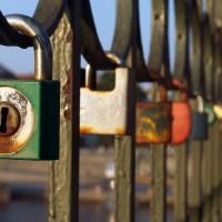 Love Locks On The Bridge