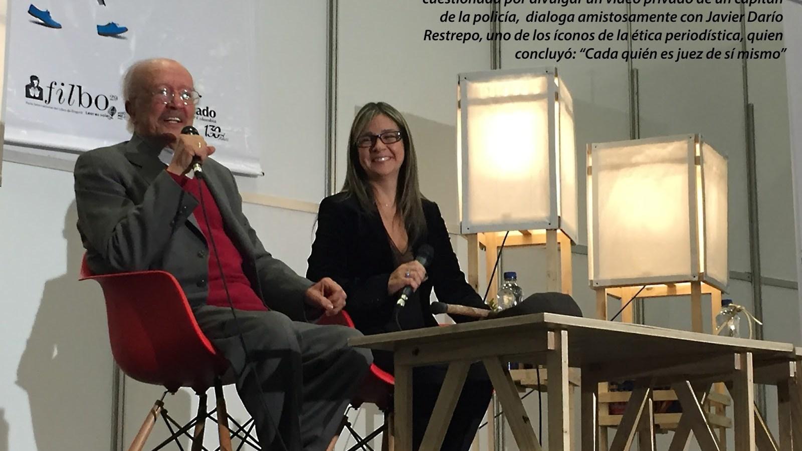 Javier Darío Restrepo y Vicky Dávila