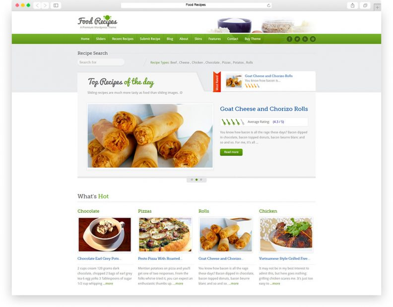 Best food recipes websites foodstutorial top 15 best food wordpress themes for recipes network website forumfinder