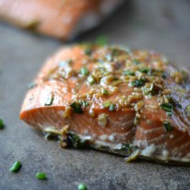 Teriyaki Salmon (AIP/Paleo/Refined Sugar-Free)| Lichen Paleo, Loving AIP
