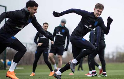 England players begin arriving at St George's Park ahead of 2018 World Cup in Russia – Lichfield ...