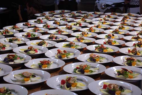 Star Chefs Gala lobster salad