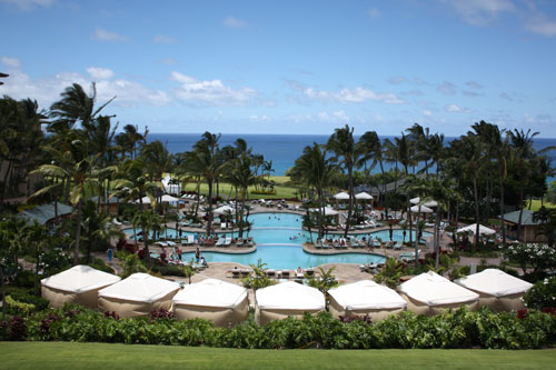 The Ritz-Carlton pool, Kapalua, Maui