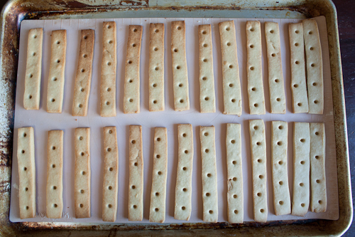 Shortbread cookie base