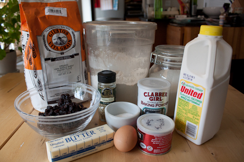 Irish Soda Bread Ingredients