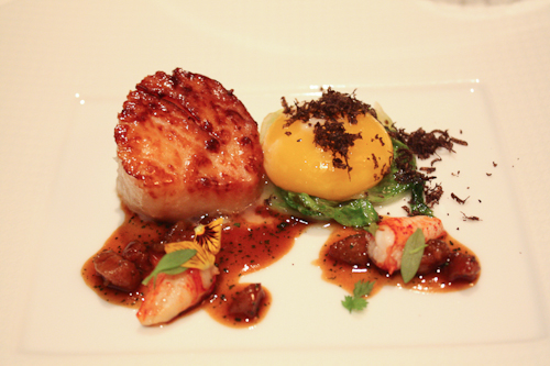 The French Laundry sea scallop poelee