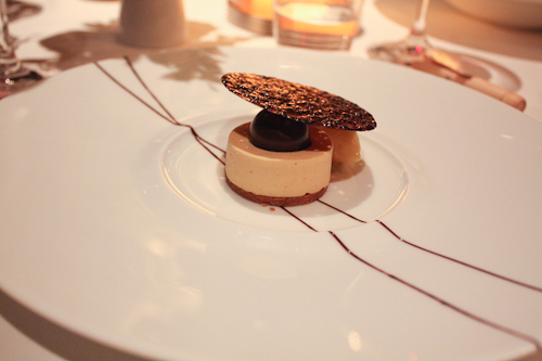 The French Laundry peanut butter bavarois