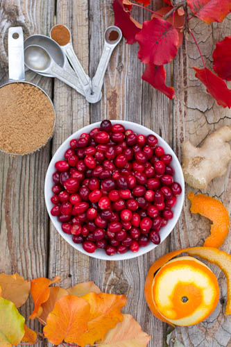 Orange and Ginger Spiced Cranberry Sauce recipe