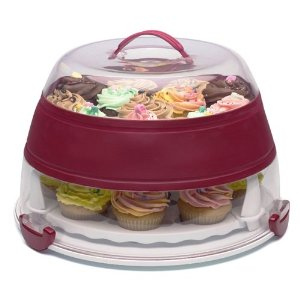 Progressive Collapsible Cupcake and Cake Carrier