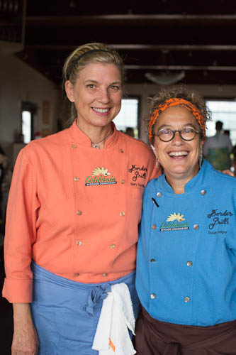 Chefs Mary Sue Milliken and Susan Feniger