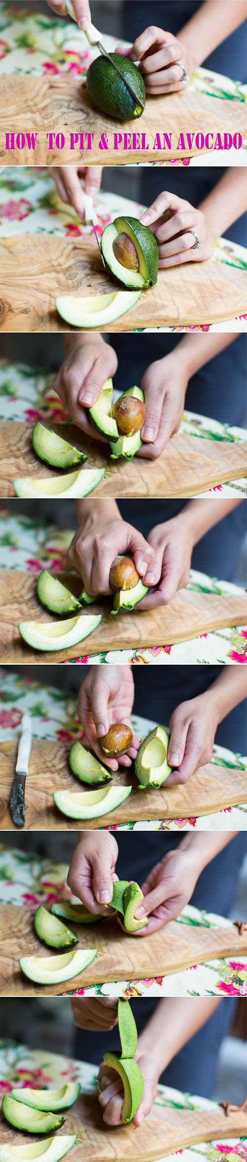 How to Pit and Peel an Avocado