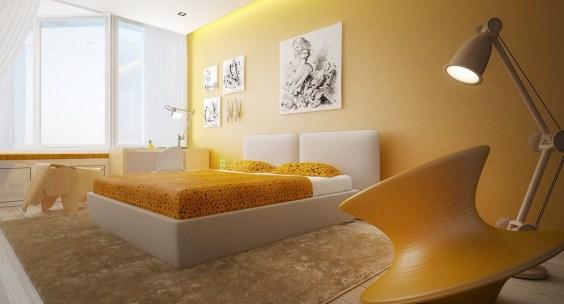 Descubre cómo influye el color de la habitación en tu vida