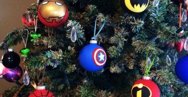 árbol de navidad estilo cine 1