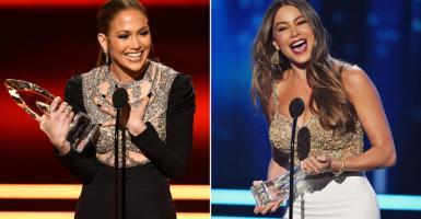 Latinas se alzan con un premio en los People's Choice Awards
