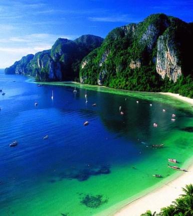 Las playas más hermosas del mundo - islas de Phi Phi