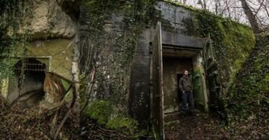 Último bunker de Adolf Hitler