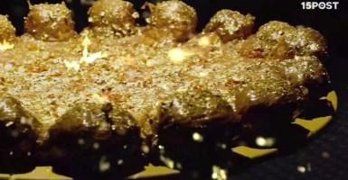 Conoce la pizza de oro y caviar que podrás degustar por 2000 dólares