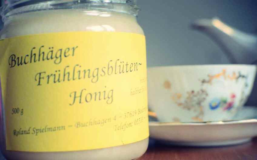 Teatime mit Buchhäger Frühlingsblütenhonig